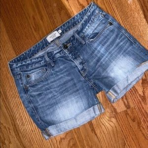 Abercrombie & Fitch Rolled Hem Jean Shorts